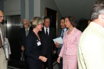 Meeting Queen Sophia of Spain, May 2014