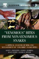 "Scott A. Weinstein, David A. Warrell, Julian White, Daniel E. Keyler. ""Venomous"" Bites from Non-Venomous Snakes: A Critical Analysis of Risk and Management of ""Colubrid"" Snake Bites. Burlington, USA, Elsevier, 2011 (in press)"